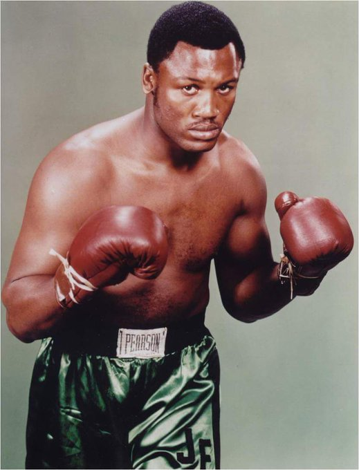 Happy birthday to the late, legendary Joe Frazier!