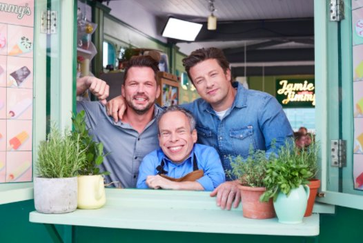 Name a more iconic trio… we'll wait. @WarwickADavis is joining us  on #FridayNightFeast in 10 minutes! https://t.co/KjTOWEFXDr