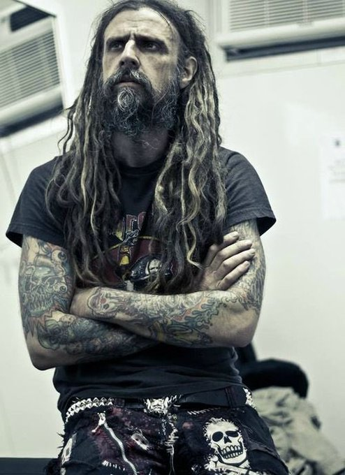 Happy Birthday to my Vegan Daddy, my king of gore, Rob Zombie