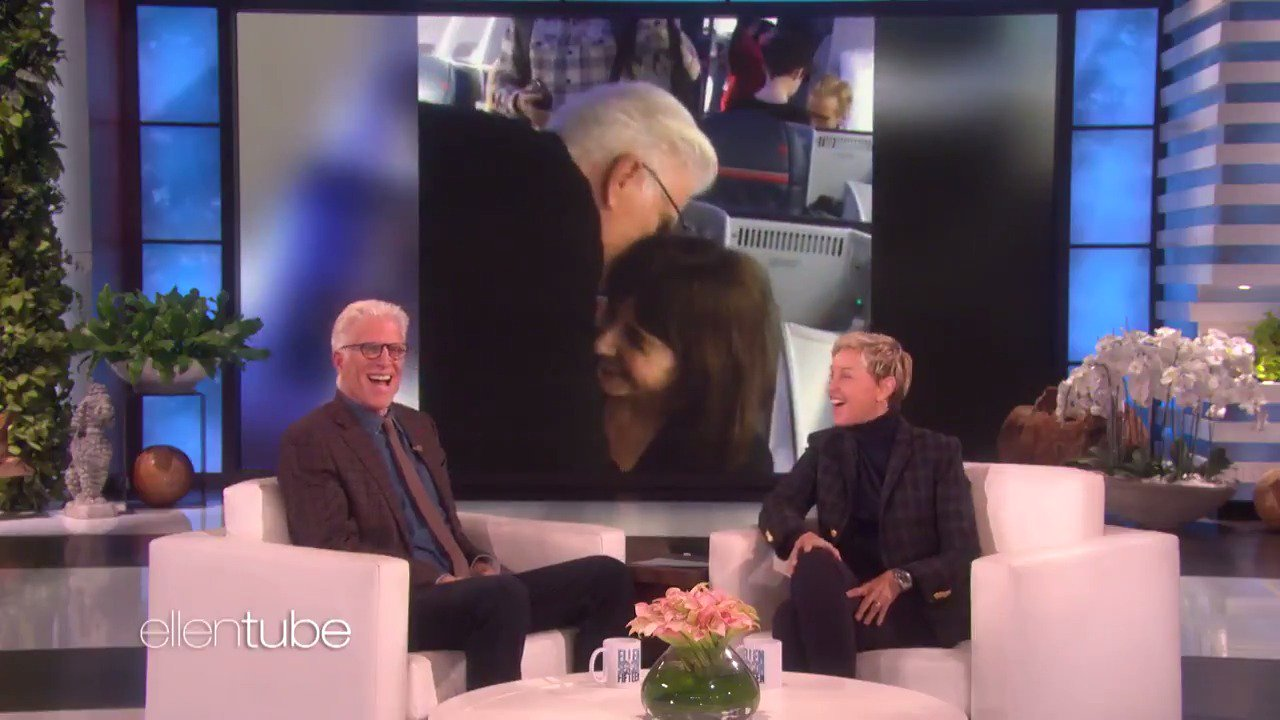 When @TedDanson is cranky, he doesn't recognize his wife, @MarySteenburgen. https://t.co/BZWsAwtNB7