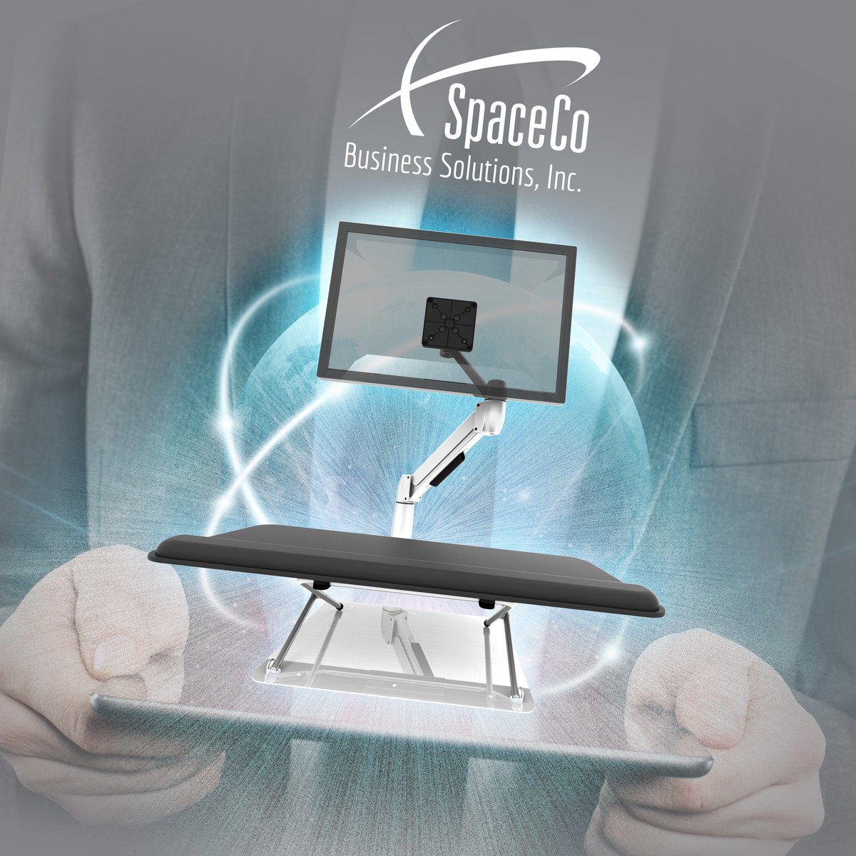 Keep your space moving with a Sit-Stand solution from SpaceCo!