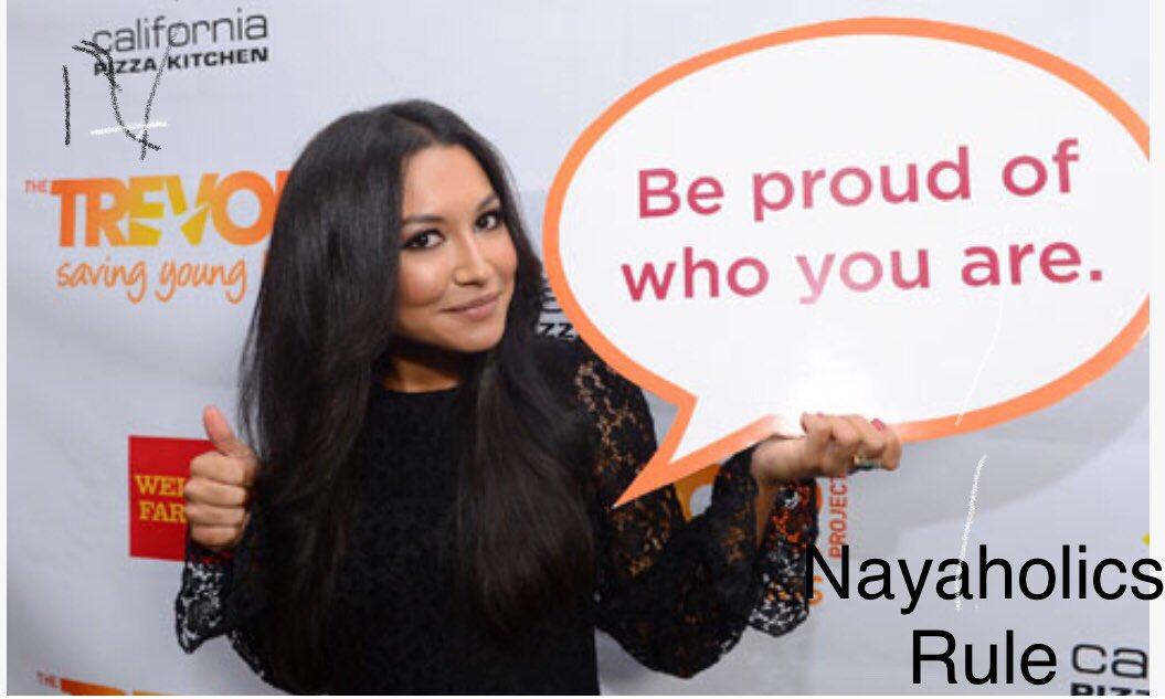 Naya Rivera  ( Santana Lopez ) 12.January, 1987 !  Hey Naya happy birthday !