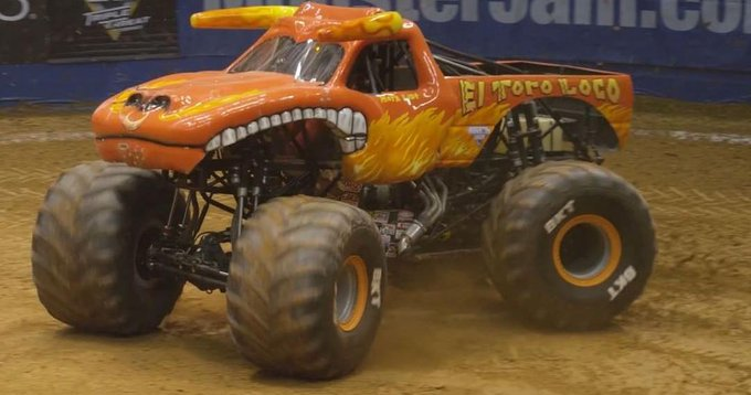 It's Friday!  Time to blow off some steam @MonsterJam