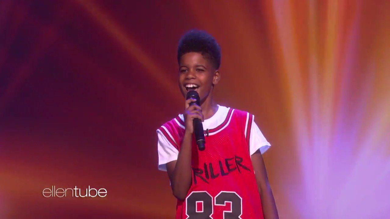 I could not believe this kid's voice. And he's gonna be young Simba. @JDmccrary @Disney https://t.co/xPqVG8H1ju