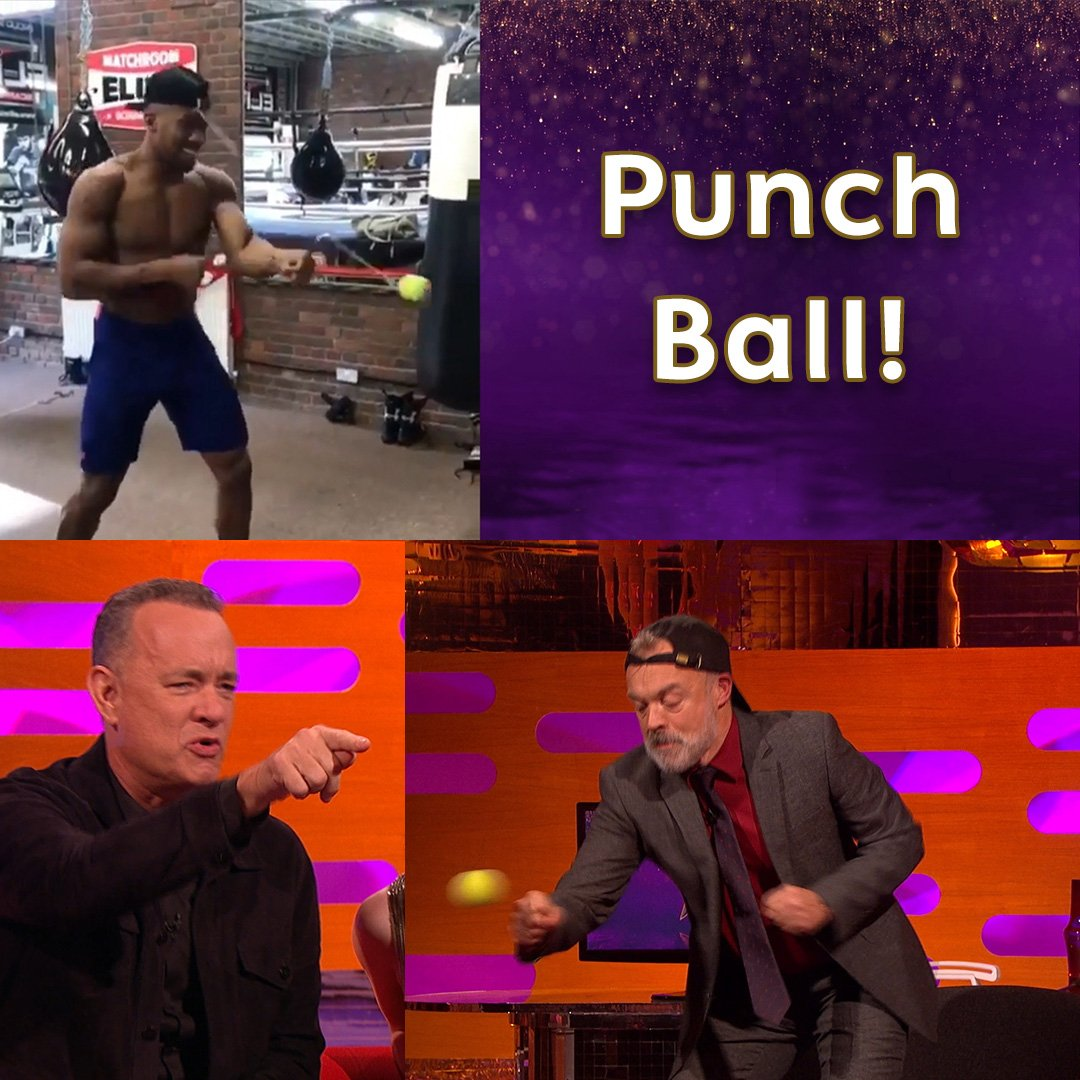 Punchball! It's hours of fun! ��  #TheGNShow https://t.co/uOxeUNOgCh