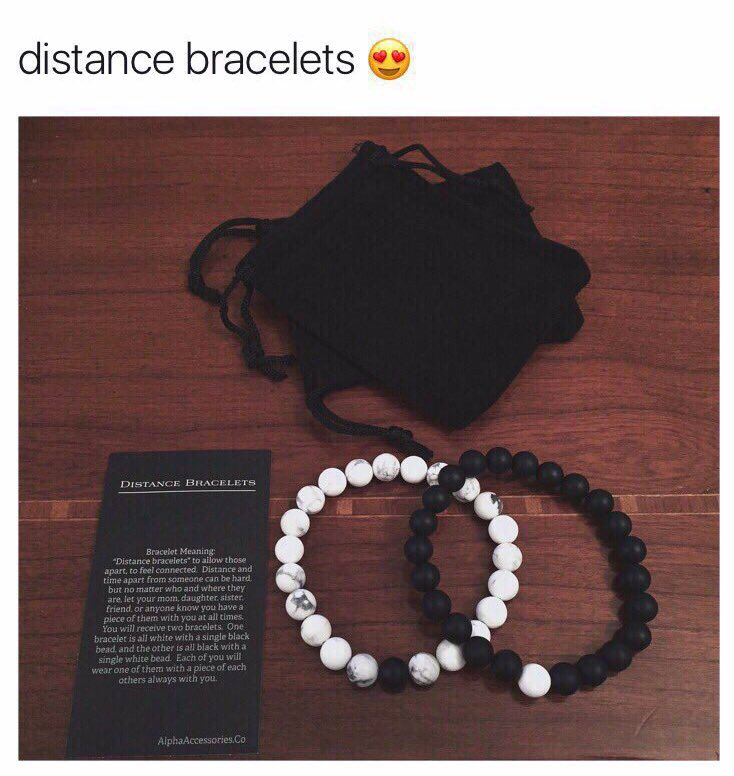RT @BEFlTMOTlVATION: my bf surprised me with the distance bracelets from https://t.co/KH2bZaWOWP omg��❤️ https://t.co/GvTwy7O20T