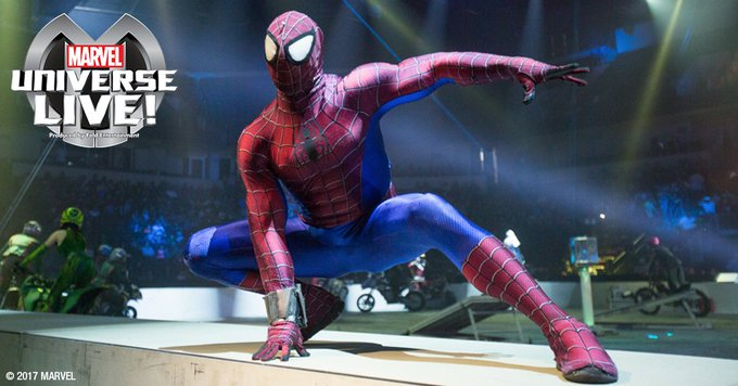 Get ready for Marvel Universe LIVE!