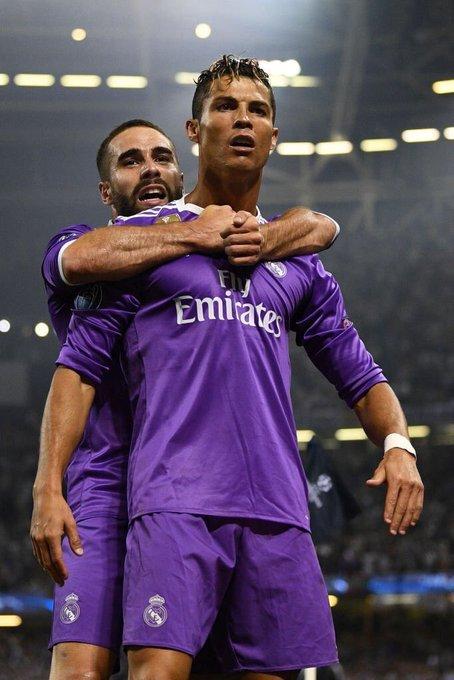 MULTIDIFUSIÓN Cristiano Ronaldo   +info  Happy Birthday, Dani Carvajal!