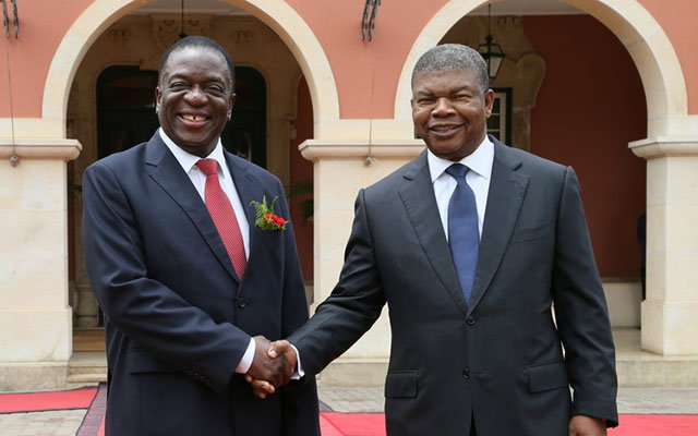 UPDATED: ED briefs Angola on Zim transition | The