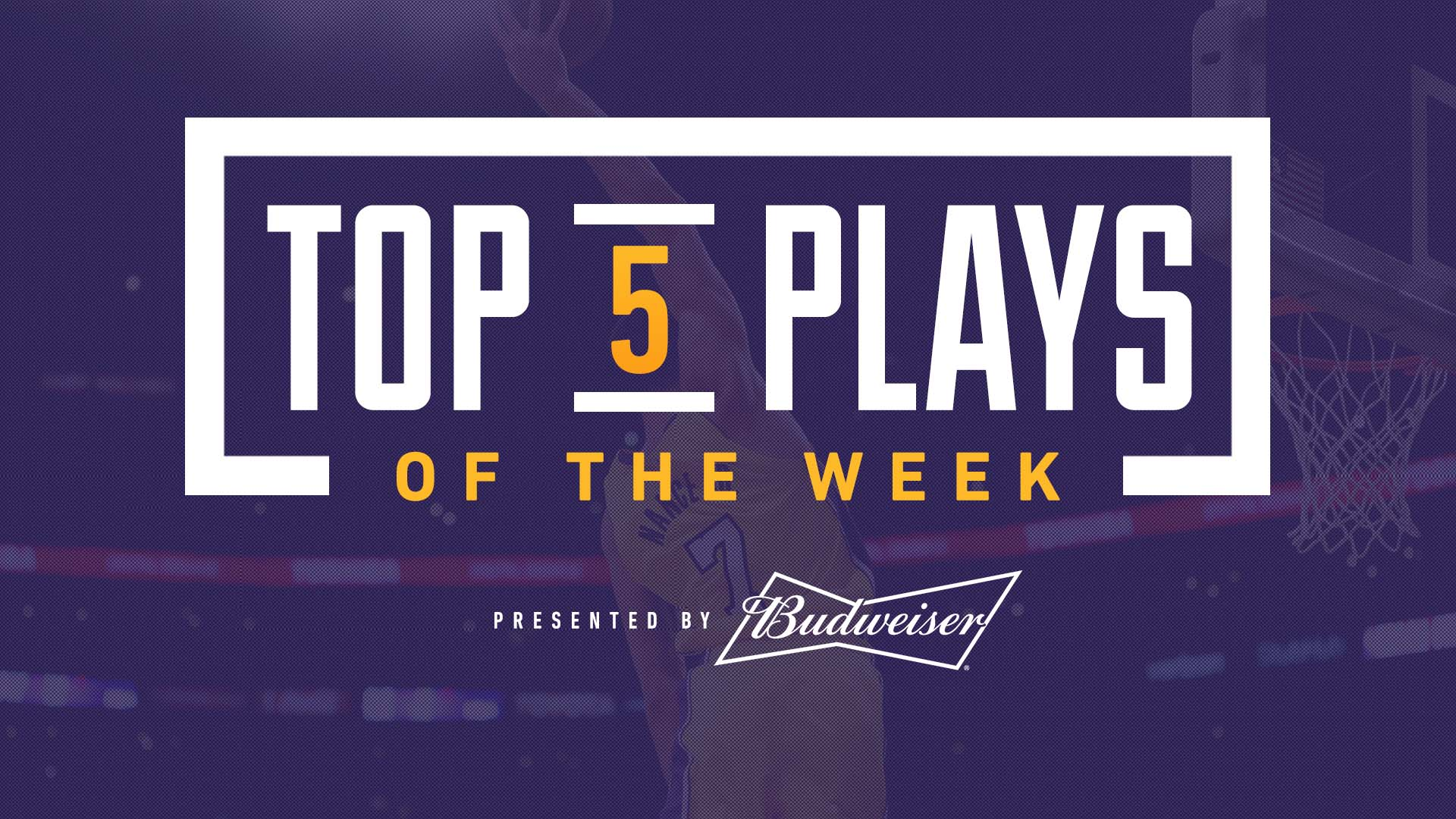 �� Larry Nance Jr. once again rises to the top of this week's top plays, presented by @budweiserusa https://t.co/0pJ78lFWPy