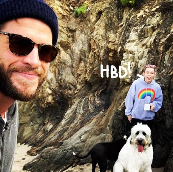 Miley Cyrus Wishes Her \Very Best Friend\ Liam Hemsworth A Happy Birthday!