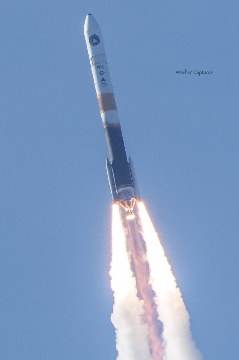 RT @AsherCaptures: #thirdtimesacharm @ulalaunch today! #DeltaIV #NROL47 @SPACEdotcom @SpaceflightNow https://t.co/4Ds3klVzdw