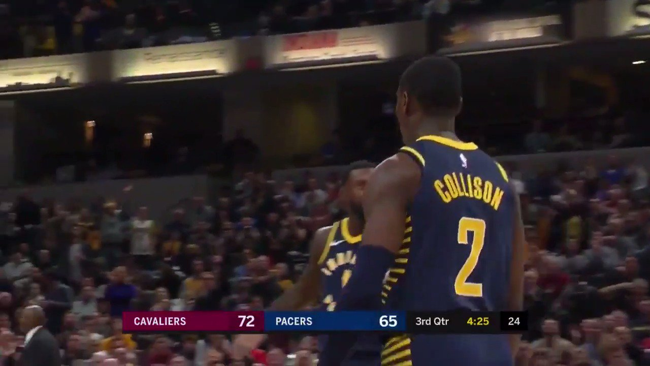 Darren Collison scored 22 PTS in the @Pacers comeback win over the @cavs!  #Pacers https://t.co/OHoC0TLshq