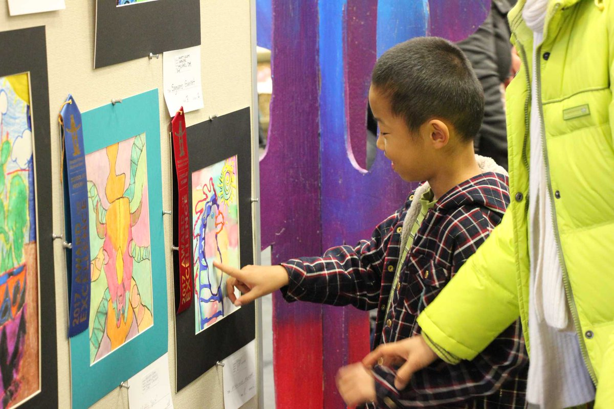 Conroe students channel the Wild West in art show