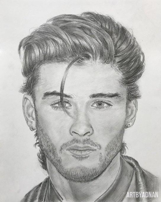 Happy Birthday to Zayn Malik! Here s a pic I drew of
