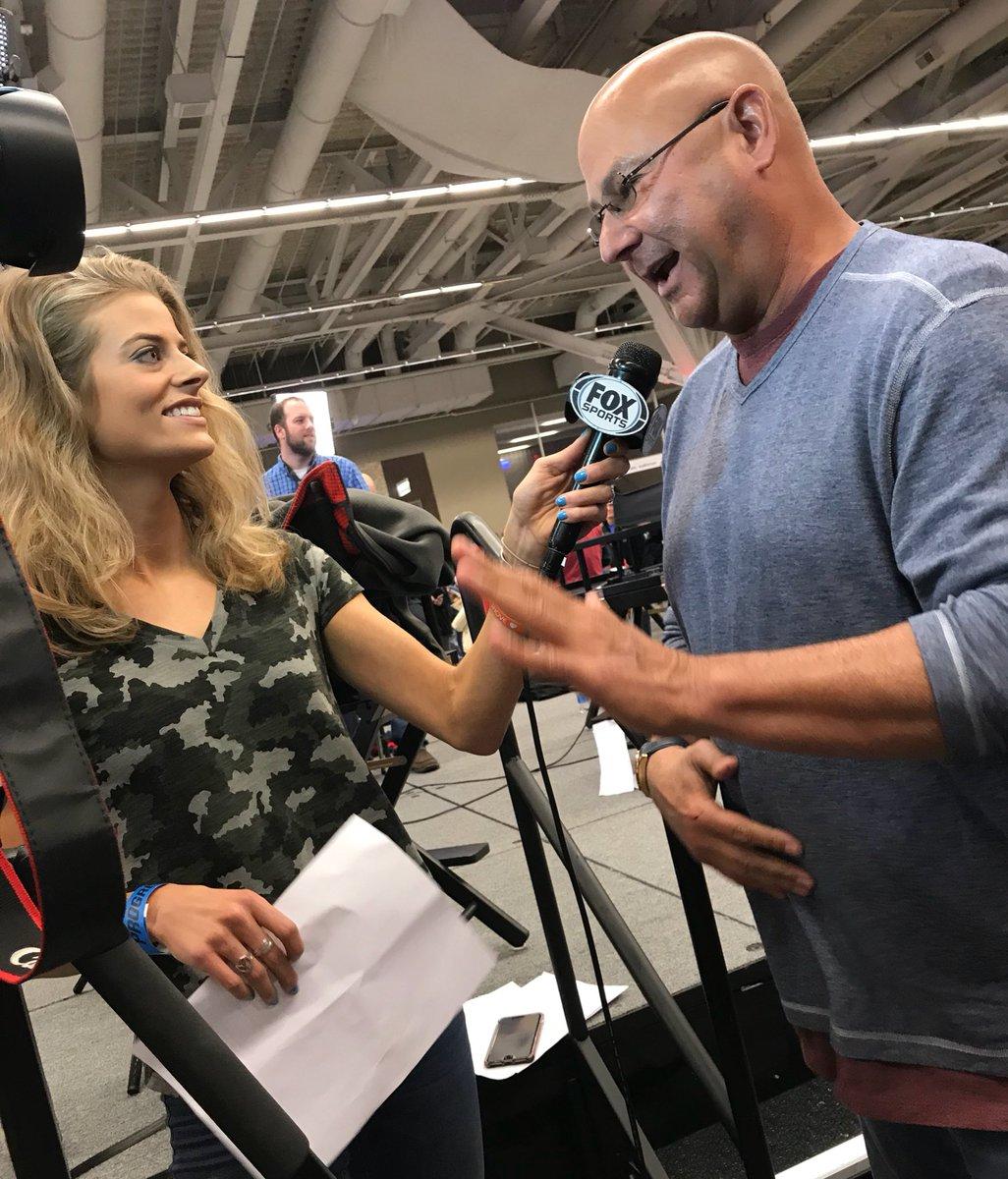 Having a dad joke war w/ Tito. #TribeFest @FOXSportsOH https://t.co/9Z8zCfEKB5