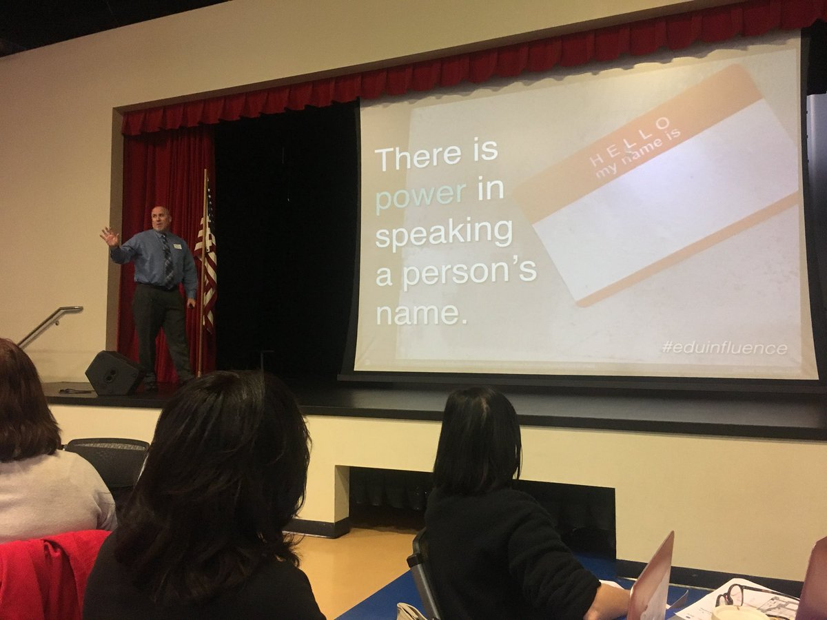 #eduinfluence #1: Names matter! #cuela https://t.co/Mygd09vkdG