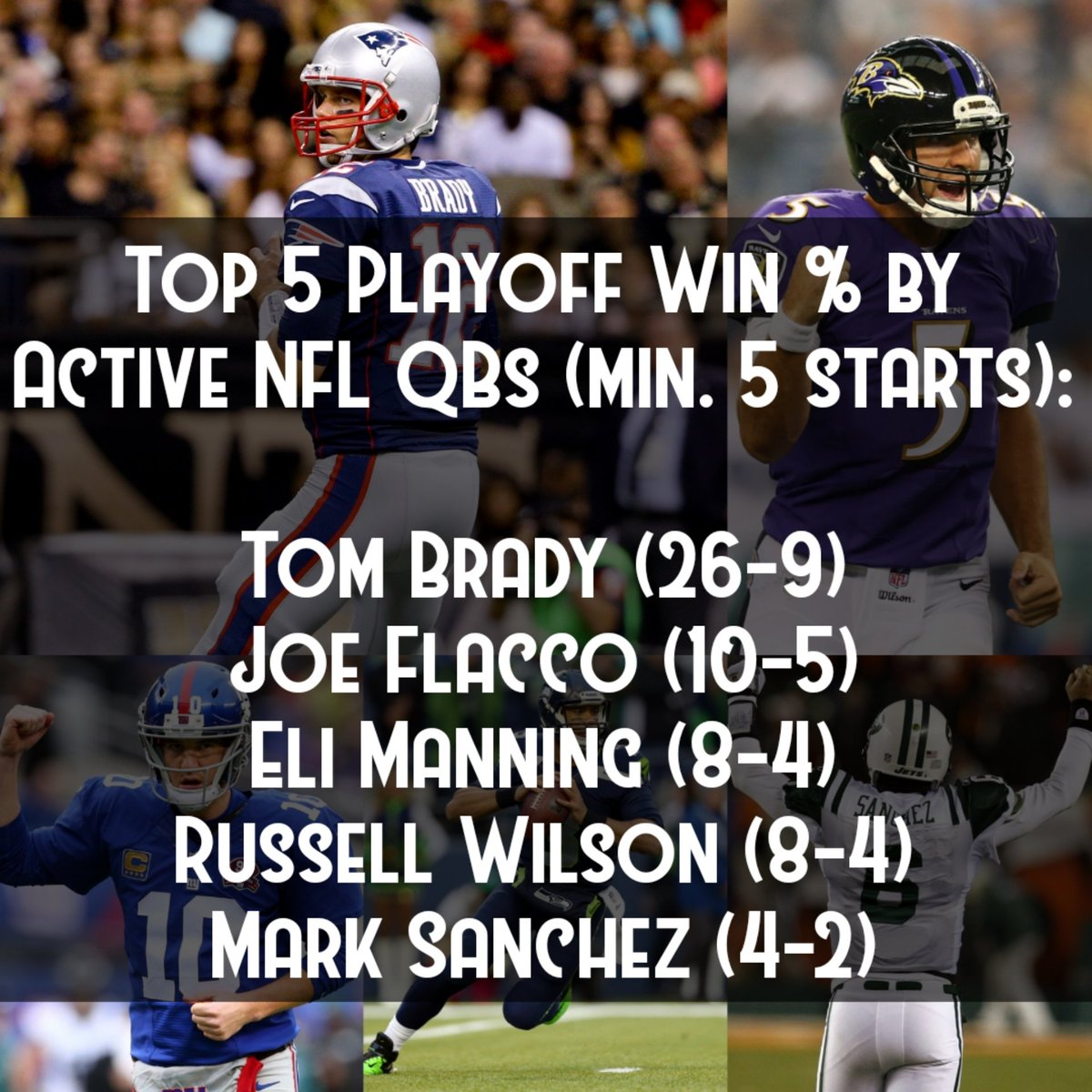 #Patriots #Ravens #Seahawks #Jets #giants #NFLPlayoffs #NFL #nflhistory #Football https://t.co/BpxxjlPMlb