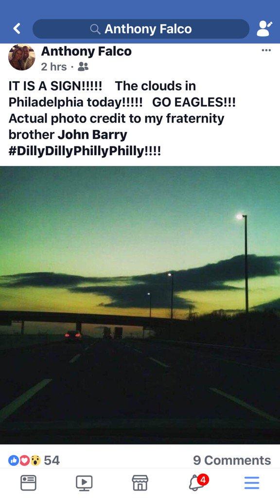 test Twitter Media - RT @jawsespn: Actual sky over PHILADELPHIA! What an omen! https://t.co/vQGWj4dt8k
