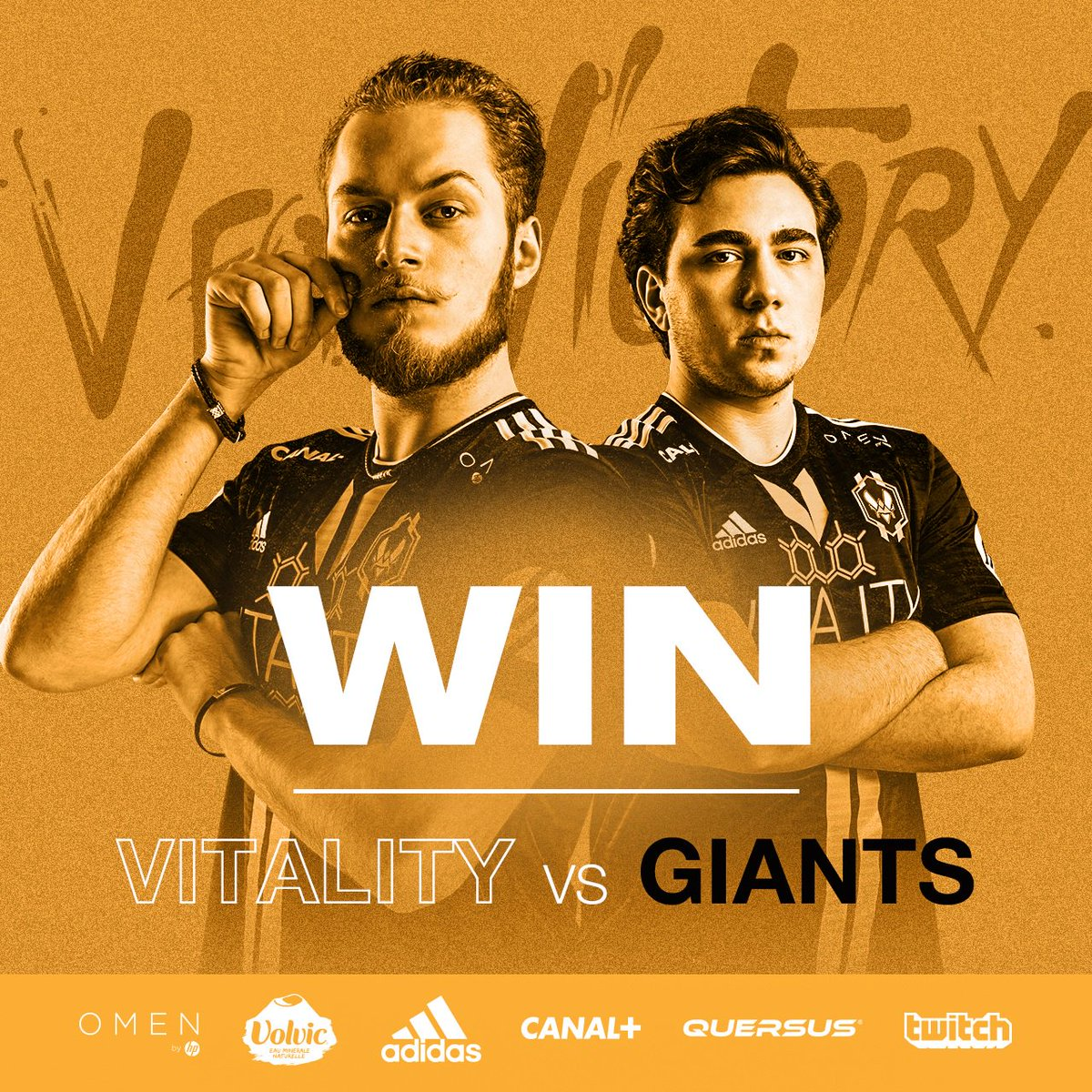 O GRANDE @MINITROUPAX!!! We take the win thanks to an incredible performance from our AD Carry and the team to go 2-0 in the first week of 2018 EULCS! #VforVictory https://t.co/tOYeRfyWuo