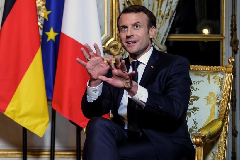 Britain able to have bespoke deal with EU - Macron https://t.co/Kverrvbjhp https://t.co/VFuktA798J