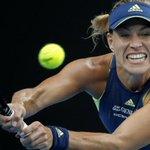Kerber beats Sharapova in 3rd round; Halep in long-haul win