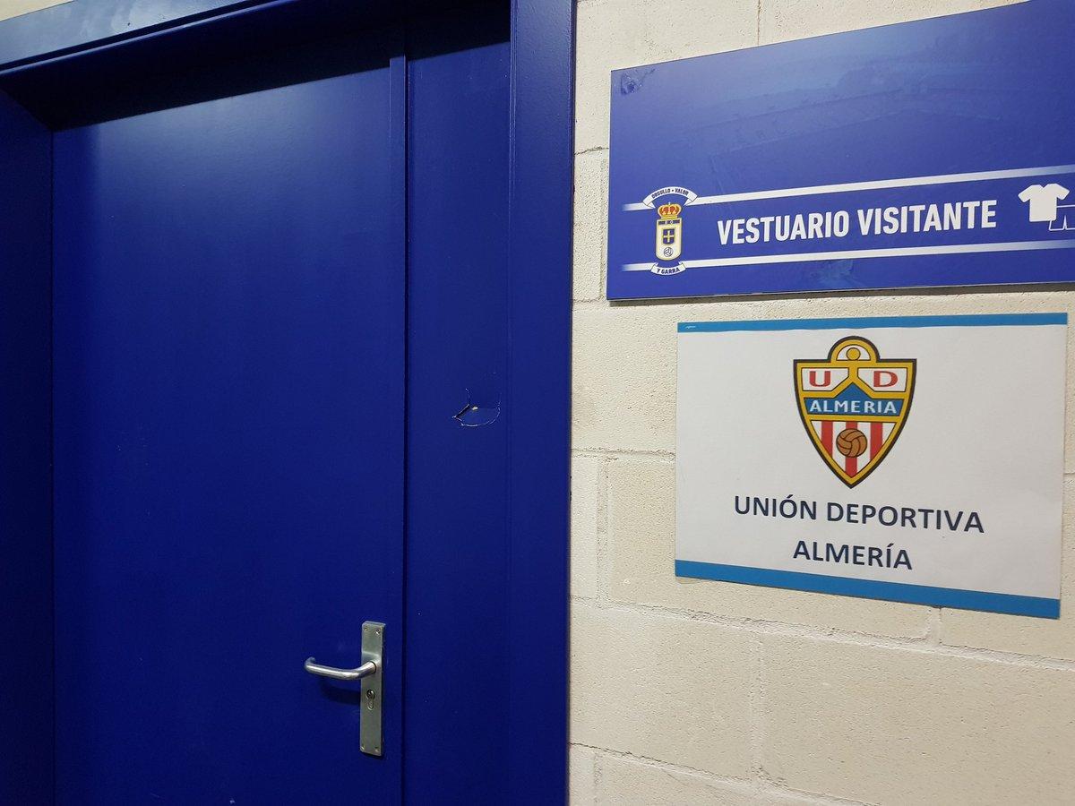 RT @RealOviedo: ¡Oviedistas! Hoy recibimos al @U_D_Almeria (18h). Bienvenidos al Carlos Tartiere #RealOviedoAlmería https://t.co/8FC3dZ0baj
