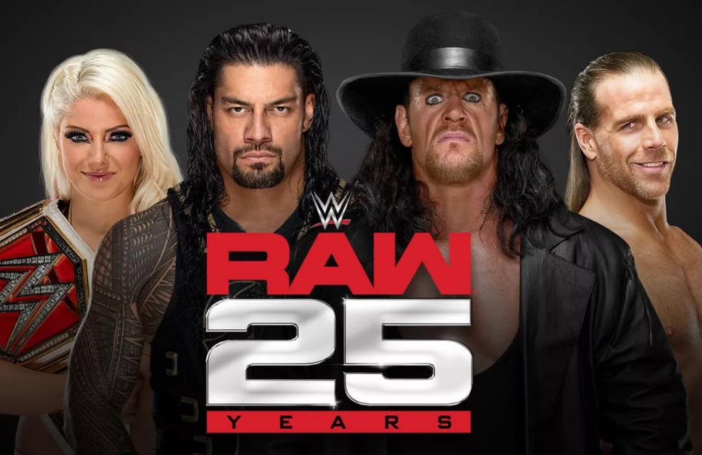 WWE Wants The Anniversary Special to Be The Most Important RAW of The Year ##WWE #Anniversary #Raw #Wrestlemania #WrestlingNews https://t.co/VTwT6qSvGp https://t.co/A5hSLR5T2C
