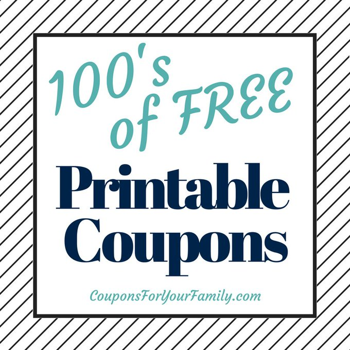 Got Coupons??  Get hundreds of FREE printable grocery coupons right here-->https://t.co/TrEZWJAQje https://t.co/Iql0z8rHgw