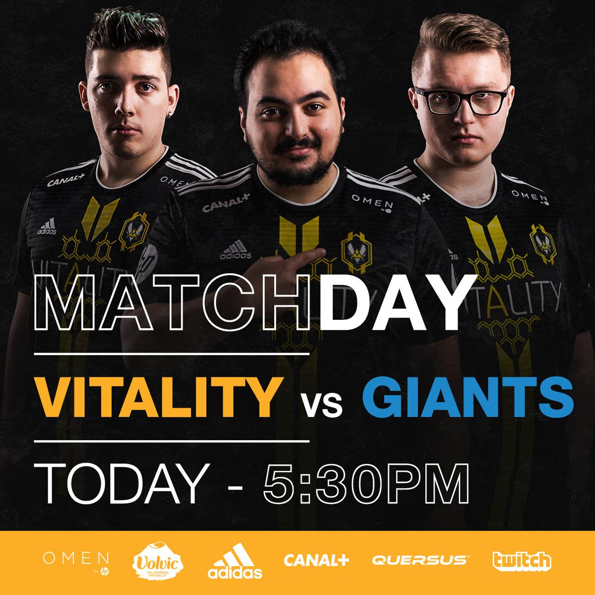 Old friends meet again. We face @GiantsGaming at 17h/5PM in the first game of the second day of 2018 EULCS 💪 #VITWIN https://t.co/pJna7tEQII