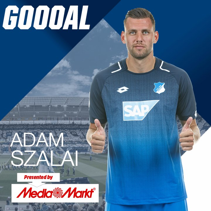 ⚽️ #GOAL FOR #TSG!   There's one! Adam #Szalai sinks it! Anything left in this? 🍀  #TSGB04 1-3 | ⏱️ 86' https://t.co/yh2Ws2K5hk