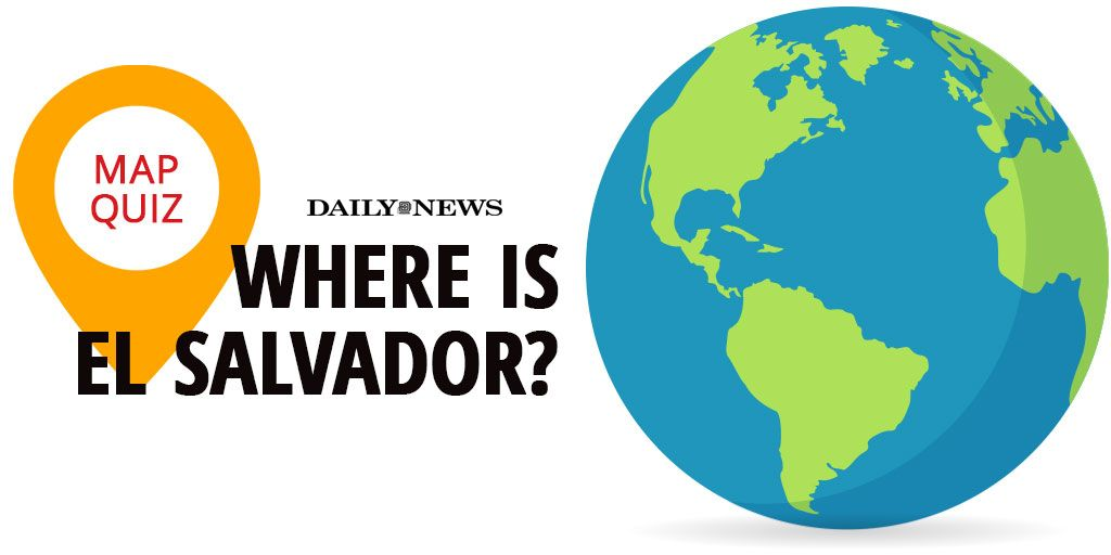 QUIZ: Can you find El Salvador on a map of Central America? https://t.co/ZaXgdS3PEI https://t.co/XOw3jYsP47