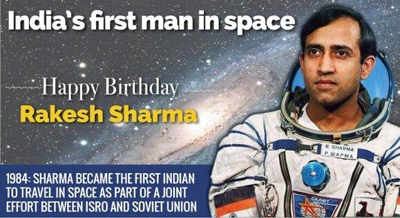 Happy birthday Rakesh sharma
