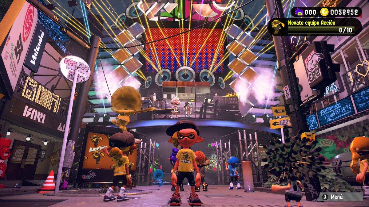 Empecemos! #TeamAction #Splatfest #Splatoon2 #NintendoSwitch https://t.co/crUPcdLsyB