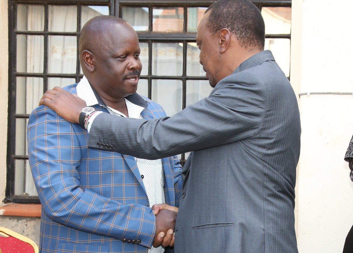 Isaac Rutto ripe for cabinet post, Bomet youths tell UhuRuto