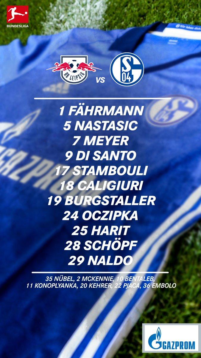 RT @s04_en: HERE WE GO!  Schalke's first line-up of 2018 💙  Let's start as we mean to go on 👊 #RBLS04 #s04 https://t.co/I1RBGQ6Ev4