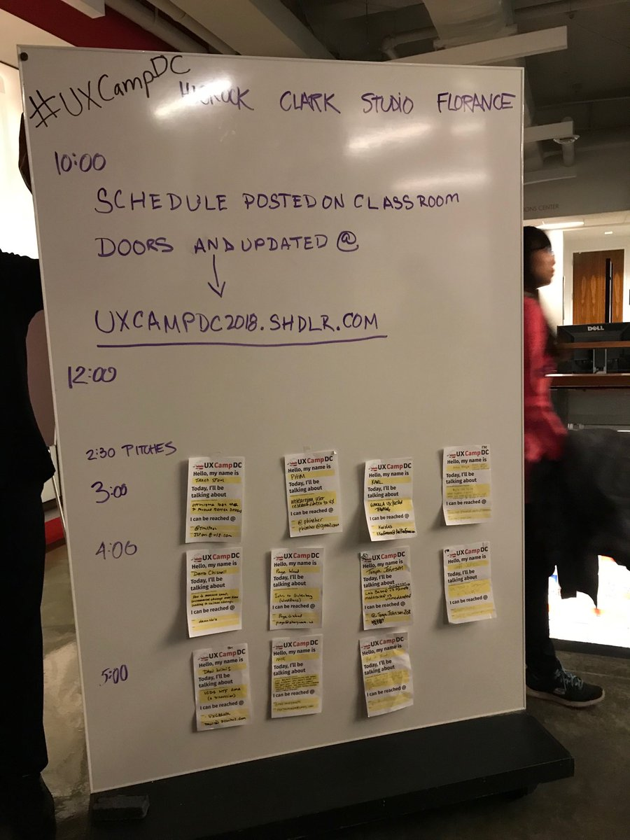 We have a full day of learning at #uxcampdc https://t.co/Zt5uh4xmZW