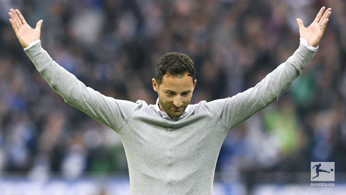 Throwback ⏮ Day 1 of Schalke's Tedesco Express.    @s04_en 2-0 @RBLeipzig_EN https://t.co/JV62nrbq3f