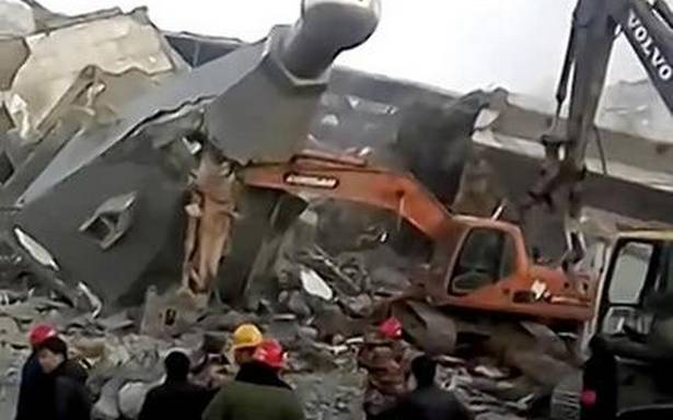 China demolishes 'secretly built' church