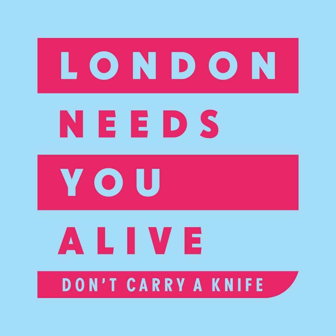 Spread the word that London needs you alive - don't carry a knife #LNYA #LondonNeedsYouAlive https://t.co/iV2xOcqdZB https://t.co/znCTJigENi