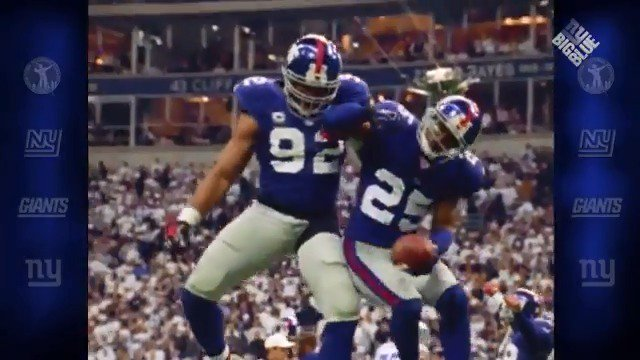"ROAD TO SBXLII: R.W. McQuarters seals the ""W"" with an INT as the #NYGiants beat Dallas 21-17 ten years ago today to advance to the NFC Championship! https://t.co/yXs4BNpTwL"