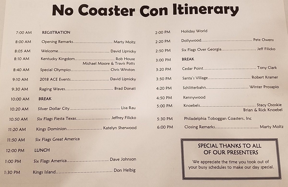 #NoCoasterCon