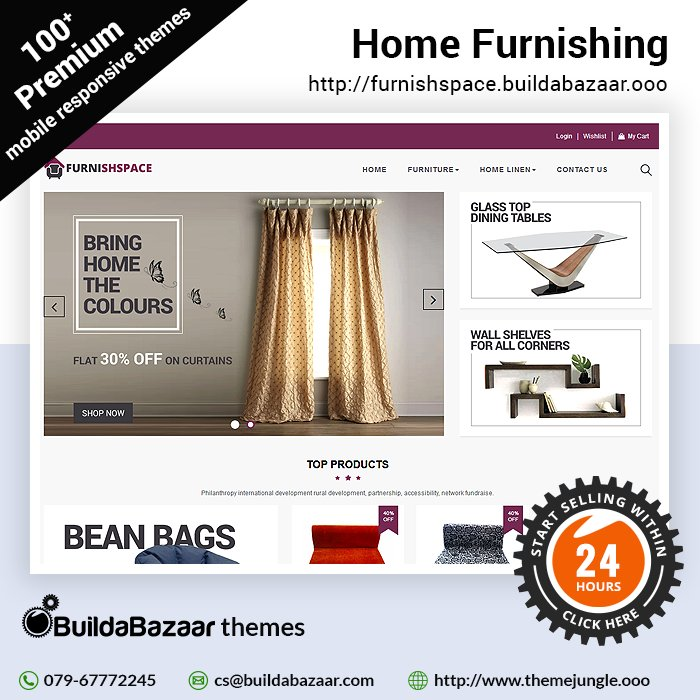 test Twitter Media - With #HomeFurnishing theme at https://t.co/bH01QTwNml you have the option of not only building an appealing website but also the one which is easy to operate. https://t.co/MIFmmENCWE #infibeam #buildabazaar #themejungle #buildabazaarthemes https://t.co/mjC90mU1Jj
