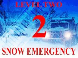 LEVEL 2 SNOW EMERGENCY