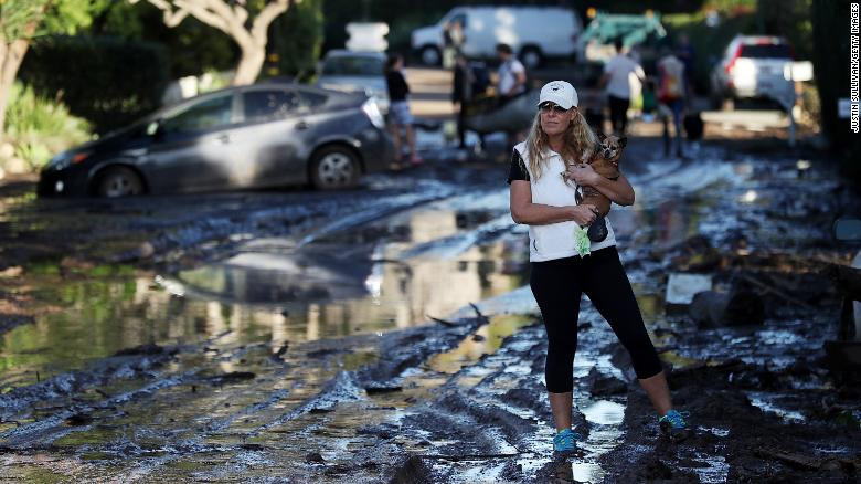 Mudslides, wildfires, earthquakes and flu. 2018's off to a rough start in California https://t.co/jDFv7srcFo https://t.co/Y6ztR2XaxK