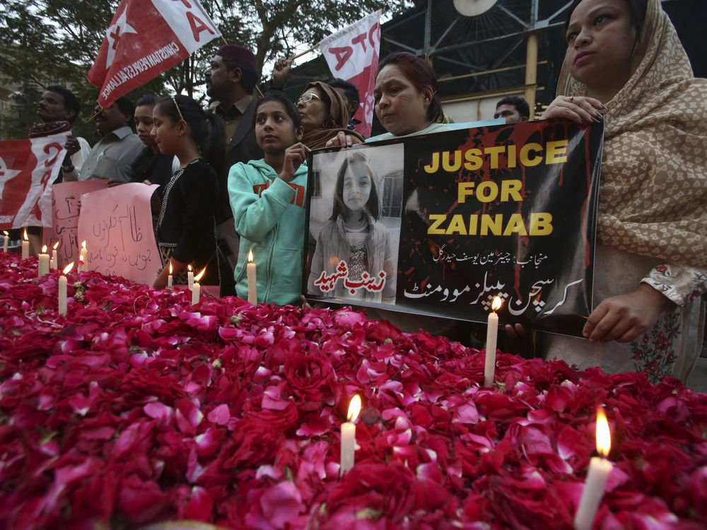 Serial killer may be behind the rape and murder of 8-year-old girl in Pakistan: official
