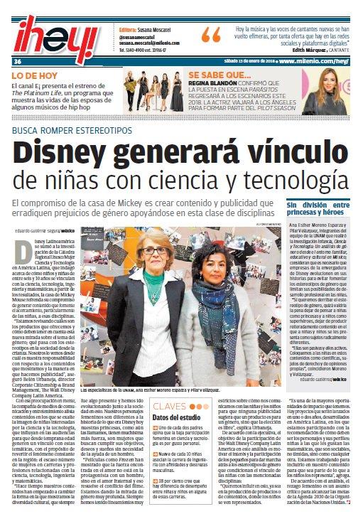 �� #FelizSábado   #Disney generará vínculo de niñas con ciencia y tecnología https://t.co/Hof2iKmNuj https://t.co/Gknaxx8WW0