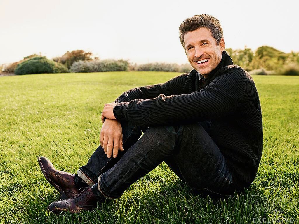 52 never looked so good! Happy birthday to Patrick Dempsey aka McDreamy. ( :