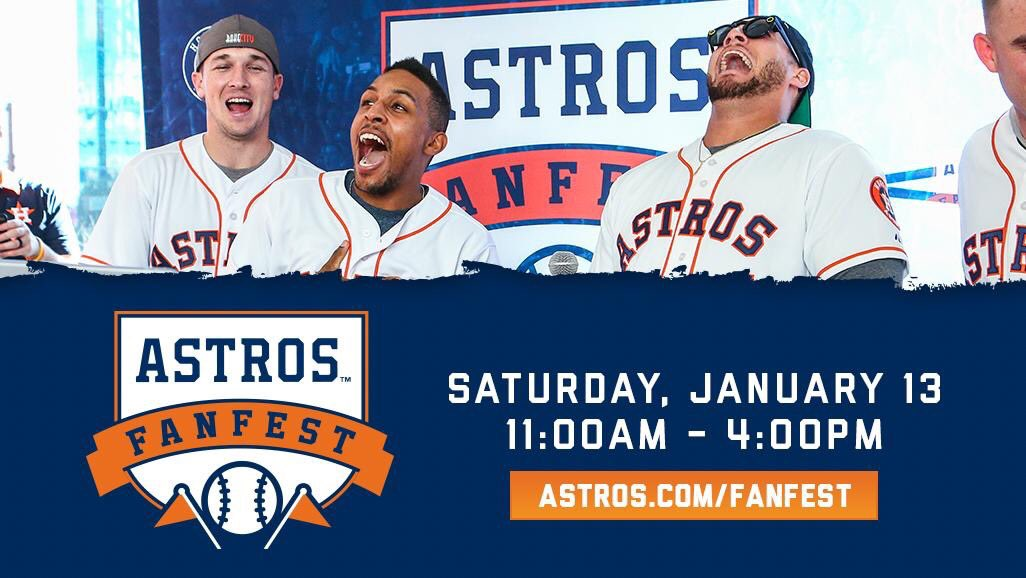 #AstrosFanFest is today!  Make sure to dress warm, have fun and share your photos using #AstrosFanFest! �� https://t.co/NHdNkCHIOO