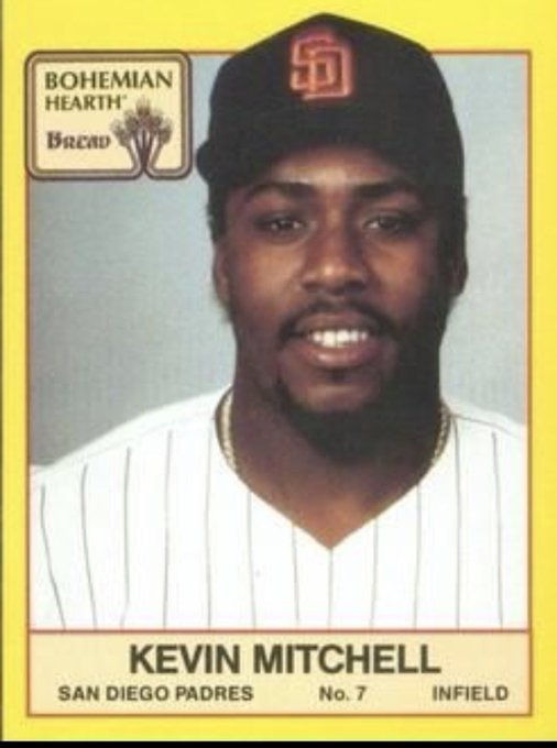 A Happy Birthday to former 3B and Outfielder Kevin Mitchell